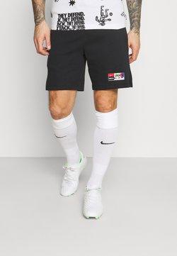Nike Performance - SHORT  - Sports shorts - black/saturn gold