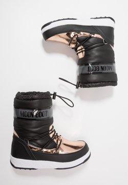 Moon Boot - GIRL SOFT WP - Snowboot/Winterstiefel - black/copper