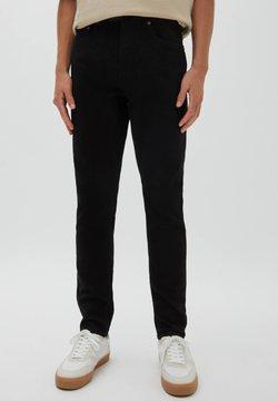 PULL&BEAR - Slim fit -farkut - mottled black