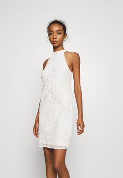 Lace & Beads - PAISLEY DRESS - Cocktailkleid/festliches Kleid - white