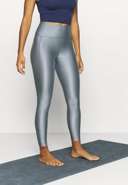Filippa K - CROPPED GLOSS LEGGING - Medias - silver grey