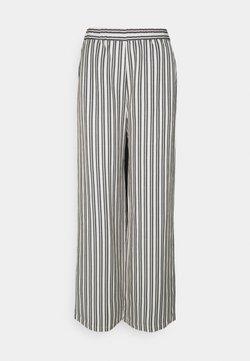 EDITED - VALERY PANTS - Stoffhose - beige/black