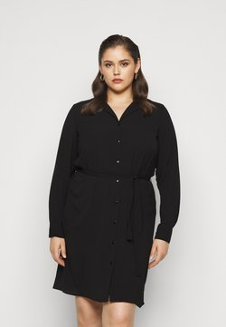 Vero Moda Curve - VMSAGA DRESS  - Blusenkleid - black