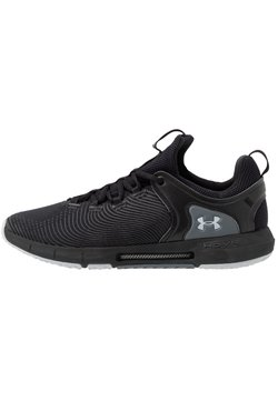 Under Armour - HOVR RISE  - Sports shoes - black/mod gray