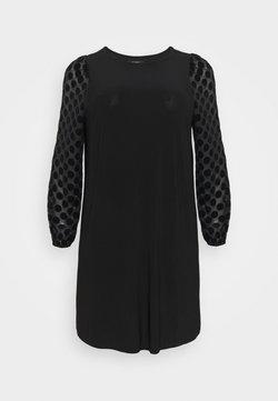Evans - BLACK SPOT DRESS - Freizeitkleid - black