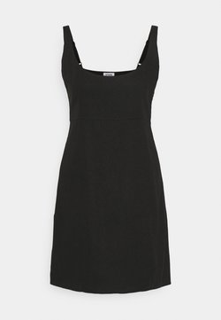 Cotton On - LIBBY STRAPPY MINI DRESS - Day dress - black
