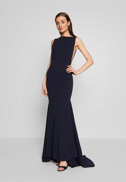 Missguided - BRIDESMAID SLEEVELESS LOW BACK DRESS - Vestido de fiesta - navy