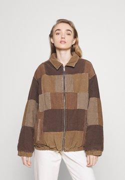 BDG Urban Outfitters - PATCHWORK HARRINGTON  - Leichte Jacke - brown