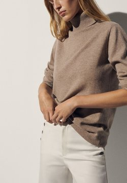 Massimo Dutti - Sweter - brown