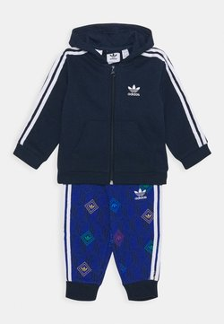 adidas Originals - HOODIE SET UNISEX - Survêtement - conavy/white