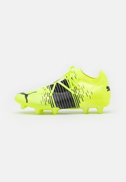 Puma - FUTURE Z 1.1 FG/AG - Moulded stud football boots - yellow aler/black/white