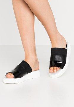 Geox - TAMAS - Pantolette flach - black