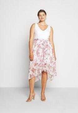 Forever New Curve - KENDRA V NECK CURVE DRESS - Hverdagskjoler - pink