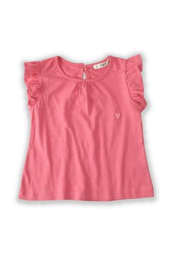 Cigit - T-shirt print - coral