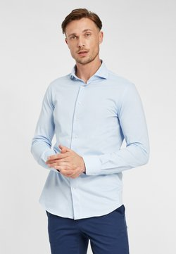 PROFUOMO - JAPANESE KNITTED - Overhemd - blue