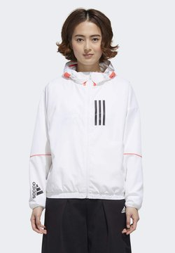 adidas Performance - Chaqueta softshell - white/black