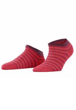 FALKE - STRIPE - Socken - cherry