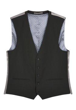 Next - STRETCH TONIC SUIT: WAISTCOAT - Gilet elegante - black