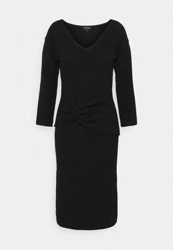 Emporio Armani - Vestido de punto - black