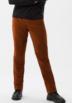 BRAX - COOPER FANCY - Stoffhose - brown