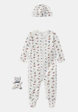 Polo Ralph Lauren - BEAR GIFT BOX SET - Bonnet - white/multi