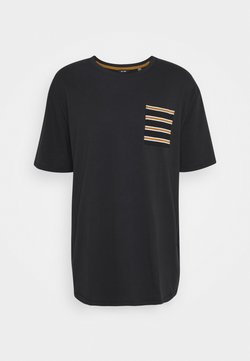 Only & Sons - ONSMELTIN LIFE POCKET TEE - T-shirt imprimé - black