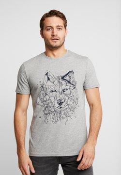 Pier One - T-shirt imprimé - mottled grey