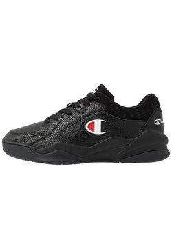 Champion - LOW CUT SHOE ZONE - Basketballschuh - black