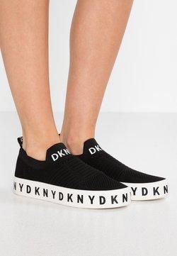 DKNY - BREA PLATFORM - Mocasines - black