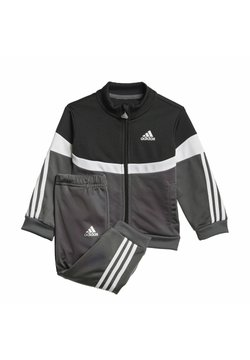 adidas Performance - CHÁNDAL SHINY BADGE OF SPORT  - Verryttelypuku - black