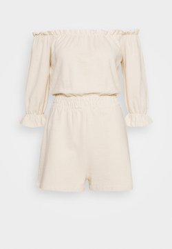 Nly by Nelly - OFF SHOULDER PLAYSUIT - Jumpsuit - creme