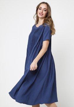 Madam-T - DARI - Freizeitkleid - blau
