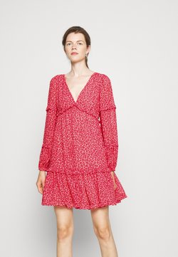 MICHAEL Michael Kors - TENTY CHEETAH MINI DRESS - Freizeitkleid - blush pink