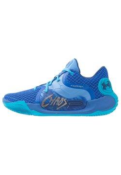 Under Armour - SPAWN 2 - Basketballschuh - versa blue/water/american blue