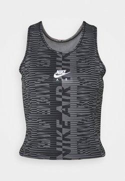 Nike Performance - AIR TANK - T-shirt de sport - black/silver