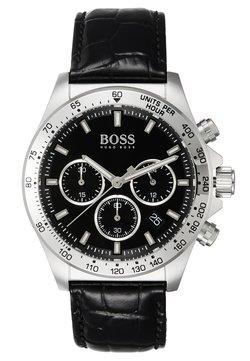 BOSS - Montre à aiguilles - black/silver
