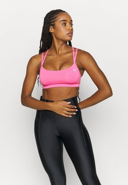Nike Performance - FAVORITES STRAPPY - Sport BH - pink glow/white