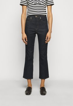 Tory Burch - CROPPED - Jeans Bootcut - resin rinse