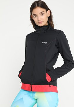Gore Wear - THERMO  - Softshelljacke - black/hibiscus pink