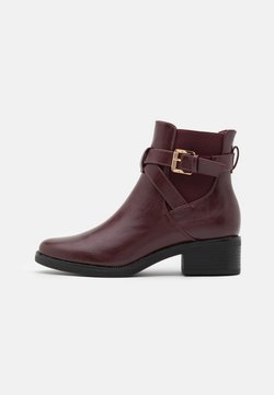 Anna Field Wide Fit - Classic ankle boots - bordeaux