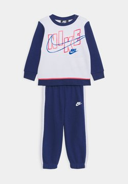 Nike Sportswear - COLOR BLOCK CREW SET - Trainingspak - blue void