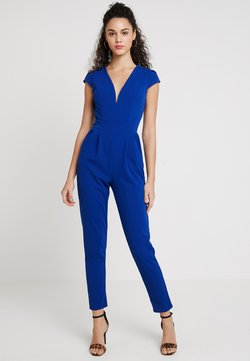 WAL G. - SHORT SLEEVE V NECK - Jumpsuit - blue