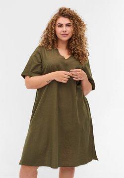 Zizzi - Vestido ligero - ivy green