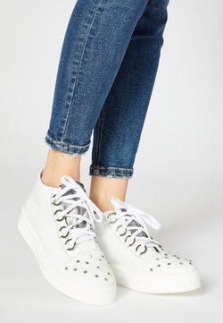 faina - Sneakers hoog - white
