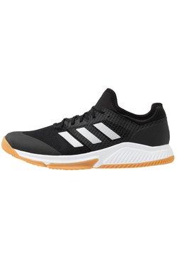 adidas Performance - COURT TEAM BOUNCE - Chaussures de handball - core black/silver metallic/footwear white