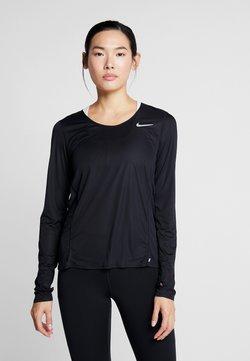 Nike Performance - NK CITY SLEEK - Funktionsshirt - black
