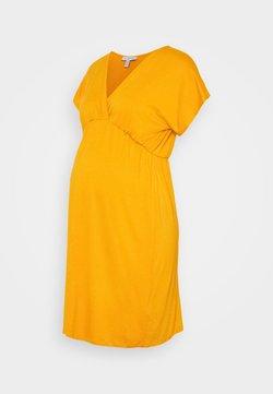 Envie de Fraise - EVI MATERNITY DRESS - Jerseykleid - mustard