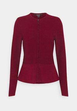 Esprit Collection - CARDI - Gilet - bordeaux red