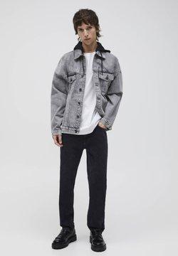 PULL&BEAR - Giacca di jeans - mottled dark grey