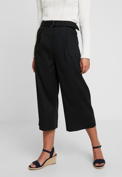 Esprit Collection Petite - CULOTTE - Bukser - black